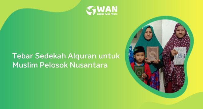 Aksi Tebar Alquran Nusantara
