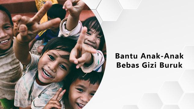 Aksi Sehat Anak Bebas dari Gizi Buruk