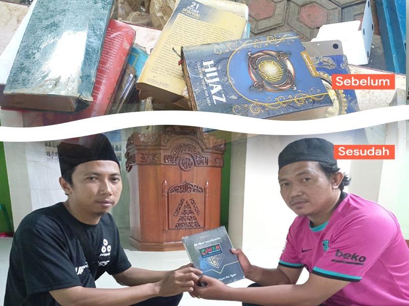 Ratusan Al-quran Rusak Akibat Banjir, WAN Hadirkan Al-Qur'an Baru